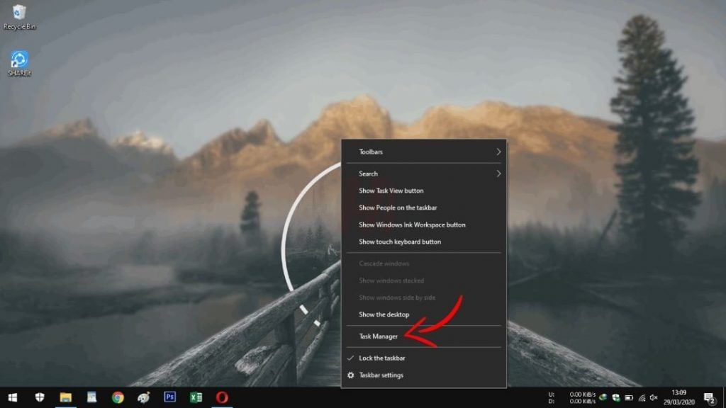 Taskbar Windows