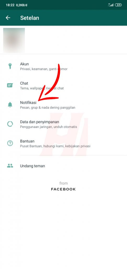Tutorial Mematikan Getar di WhatsApp Android