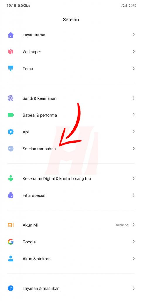 Cara Menonaktifkan MIUI Optimization