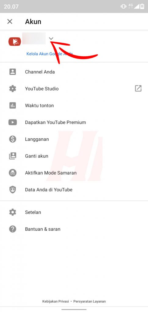 Daftar Channel YouTube