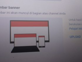 Cara Merubah Foto Sampul Channel YouTube Lewat Android